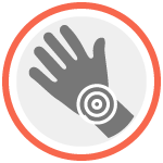 If you feel pain in your hands, wrists or arms report it to your supervisor